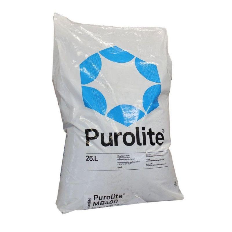Resina lecho mixto Purolite MB400 25l.